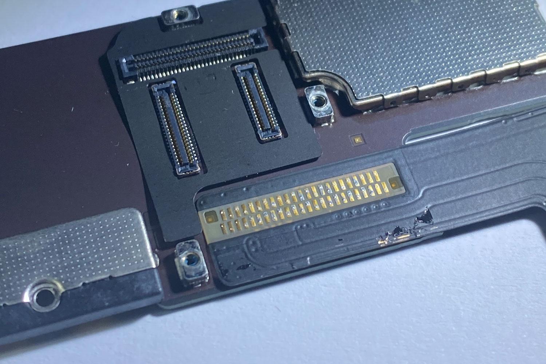 Riparazione connettore di ricarica iPad air 2
