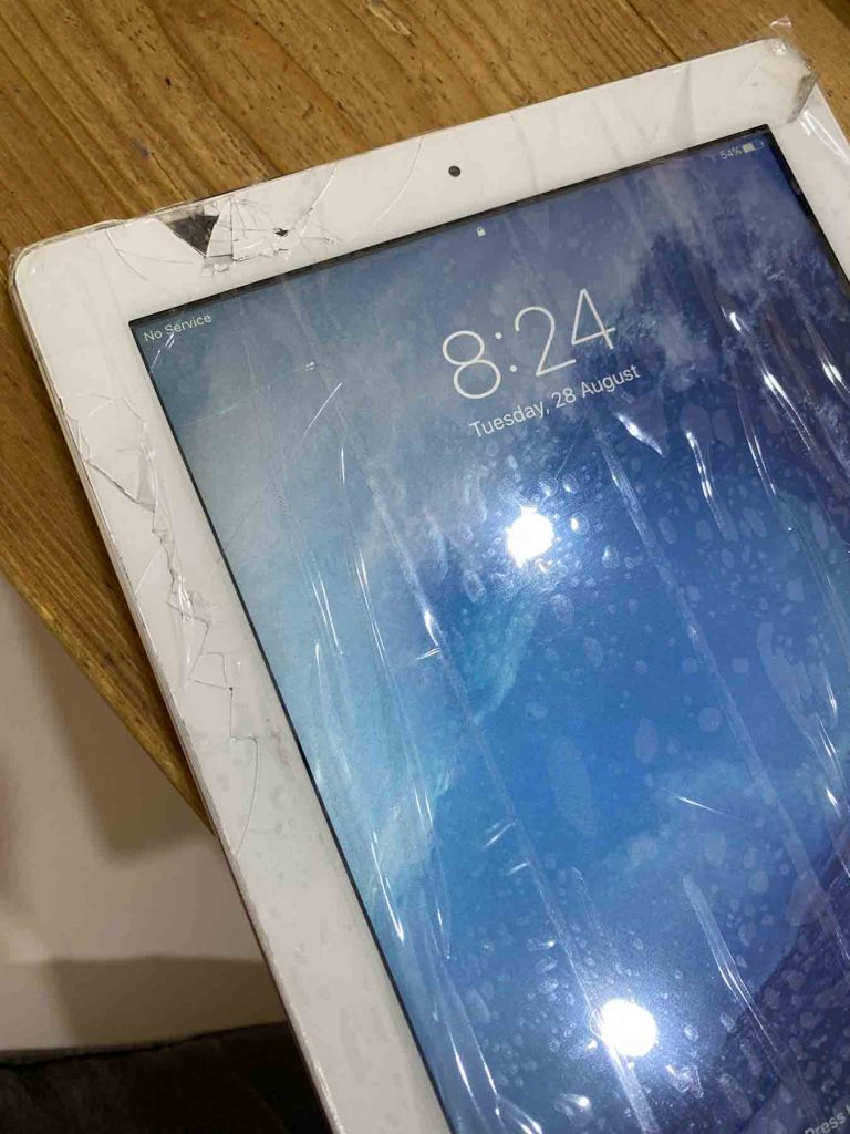 sostituzione vetro ipad apple tablet desenzano del garda